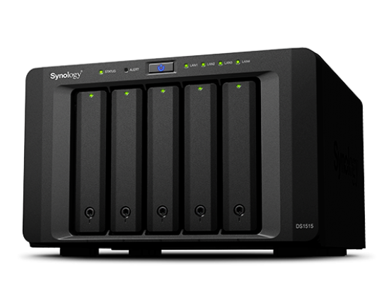 Synology DiskStation DS1515 5-Bay Desktop NAS