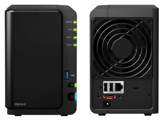 Synology DiskStation DS216+II 2-Bay Desktop NAS