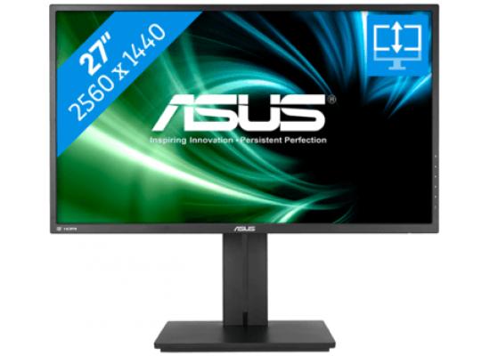 "ASUS 27"" PB277Q Gaming Monitor 2K , 1ms , up to 75Hz"