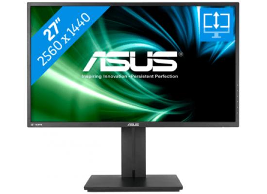 "ASUS 27"" PB277Q Gaming Monitor 2K , 1ms , up to 75Hz"