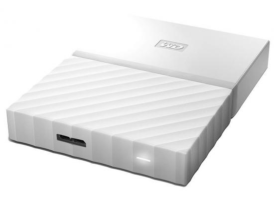 WD 4TB My Passport Secure Portable NO Power HDD ( White )