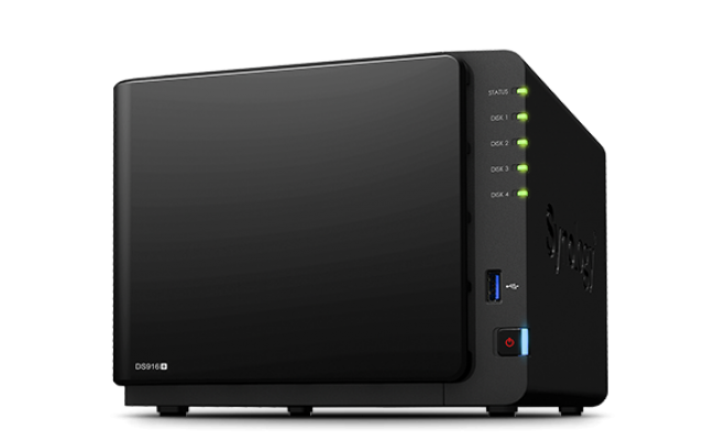 Synology DiskStation DS916+ 4-Bay NAS for SMB