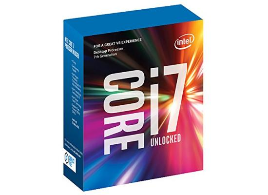Intel Core i7-7700K Kaby Lake Quad-Core up to 4.5 GHz