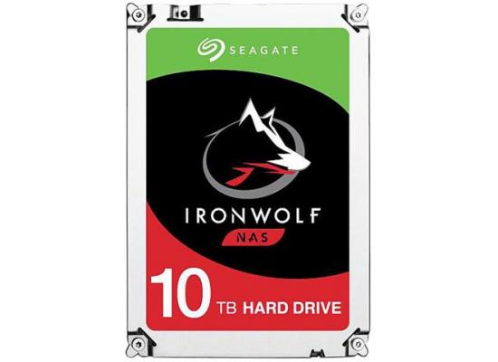 Seagate IronWolf 10TB HDD 7200 RPM 256MB Cache