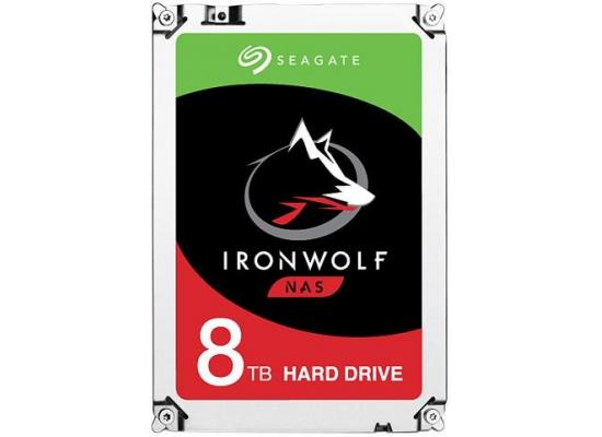 Seagate IronWolf 8TB 7200RPM SATA 6.0 GB/s 256MB