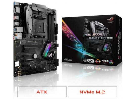 Asus STRIX B350-F GAMING AMD B350 ATX Motherboard