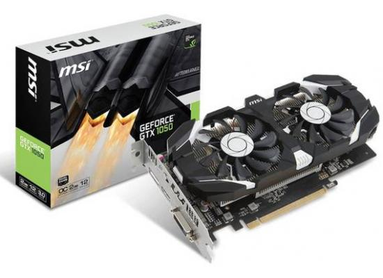 MSI NVIDIA GeForce GTX 1050 2GT OC 2GB GDDR5