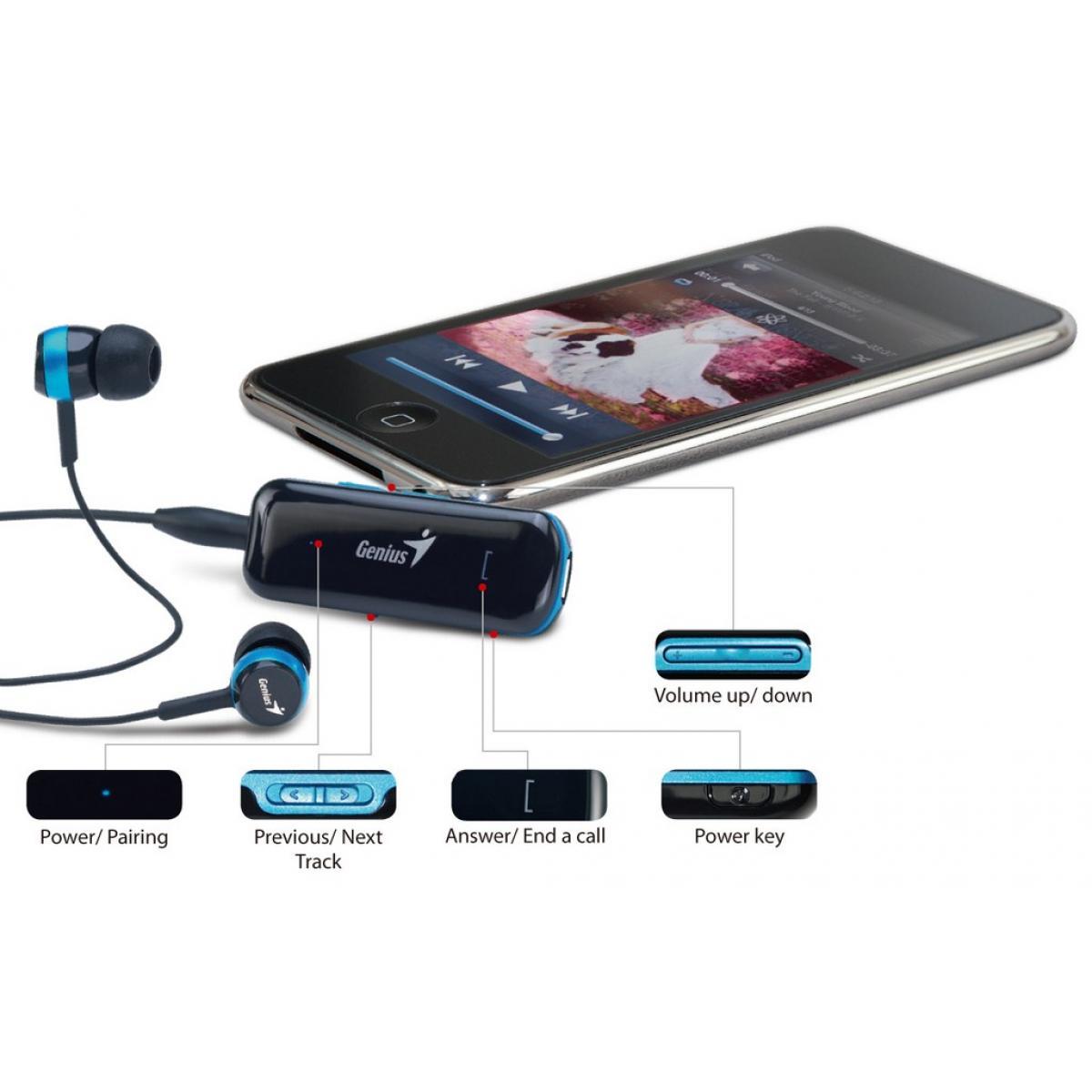 Genius HS-905BT Bluetooth Headset For Music & Call