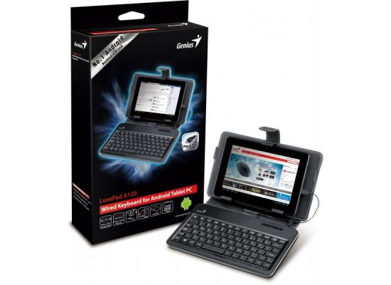 Genius Luxepad A120 Keyboard & Cover For Tablet