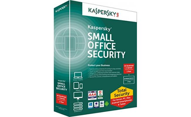 KASPERSKY Labs Small Office Security ( 1 Server + 5 Users )