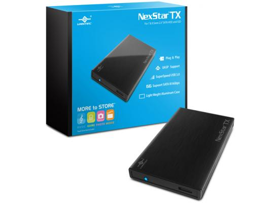 Vantec NexStar TX NST-228S3-BK 2.5 inch SATA3 to USB 3.0