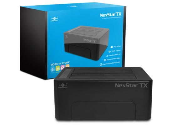 Vantec NexStar TX NST-D428S3-BK Dual Bay USB 3.0