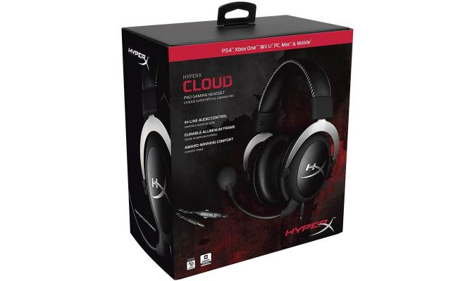 HyperX Cloud Pro Gaming Headset - Silver