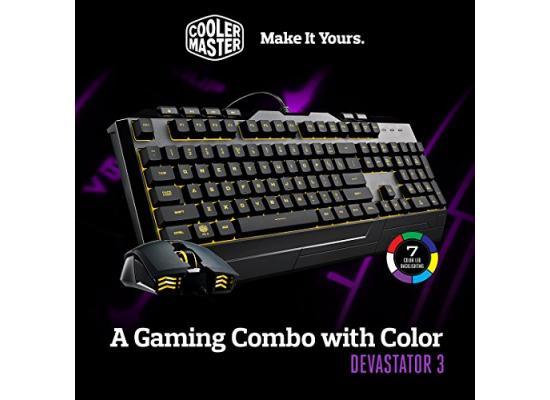 Cooler Master Devastator 3 RGB Gaming COMBO