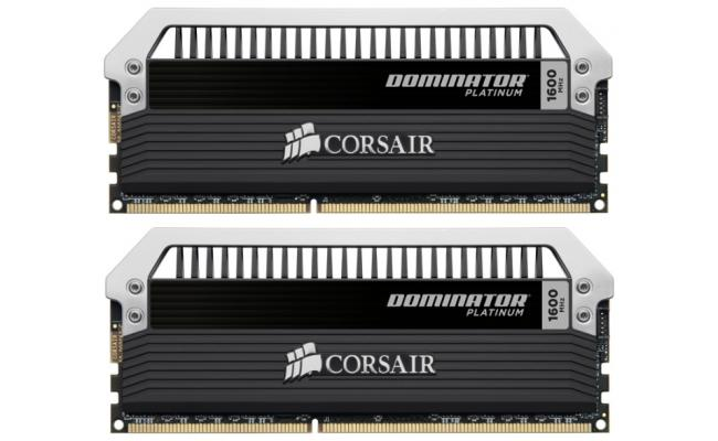 CORSAIR Dominator Platinum 16GB (2 x 8GB) 1600MHz