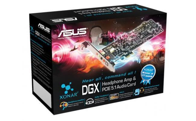 Asus Xonar DGX  5.1 PCI Express Sound Card