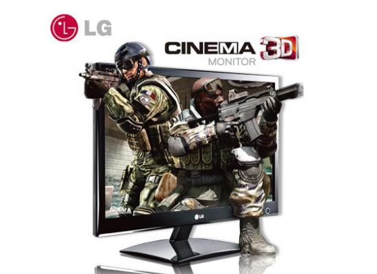 "LG 23"" 3D HDMI LED Cinema"