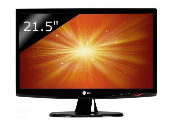 "LG 21.5"" Black Widescreen LCD"