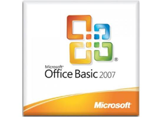 Microsoft Office Basic 2007
