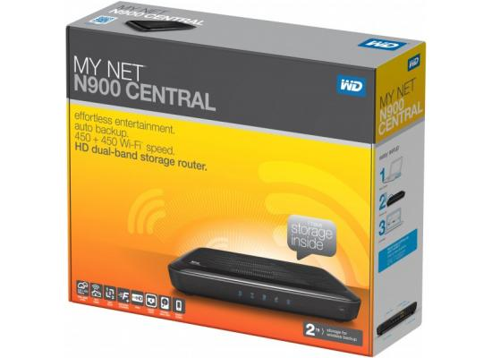 WD My Net N900 Central HD Dual-Band Router with 2TB Storage