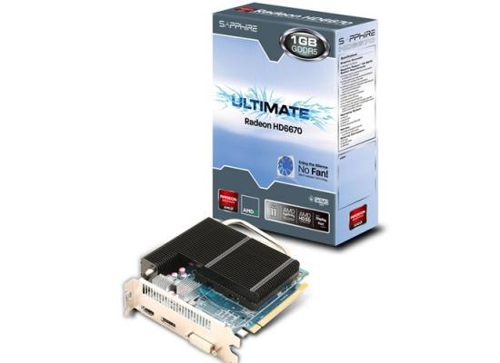 Sapphire 1GB 6670
