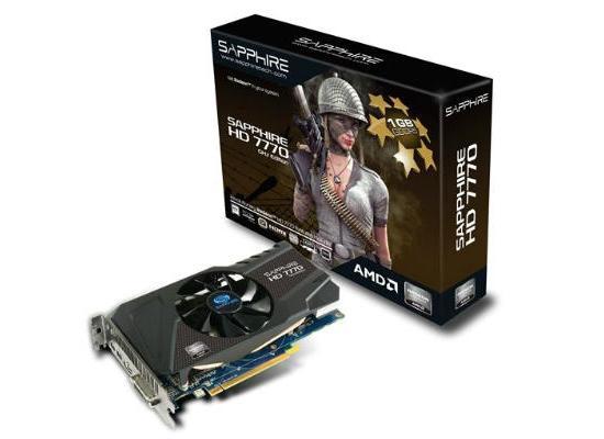Sapphire AMD Radeon HD 7770 GHz Edition 1GB
