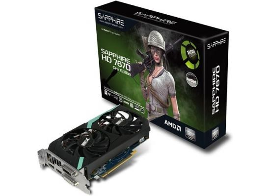 Sapphire AMD Radeon HD 7870 GHz EDITION OC 2GB