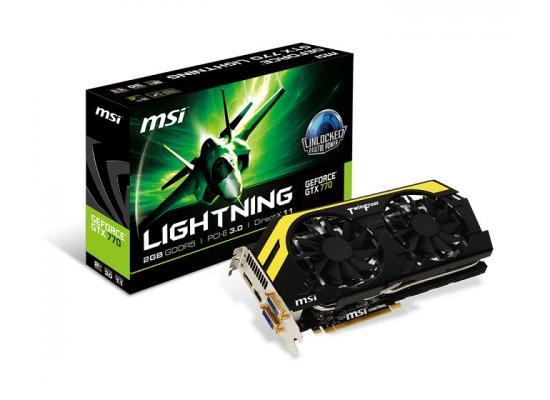 MSI NVIDIA GeForce GTX 770 2GB GDDR5 LIGHTNING LE
