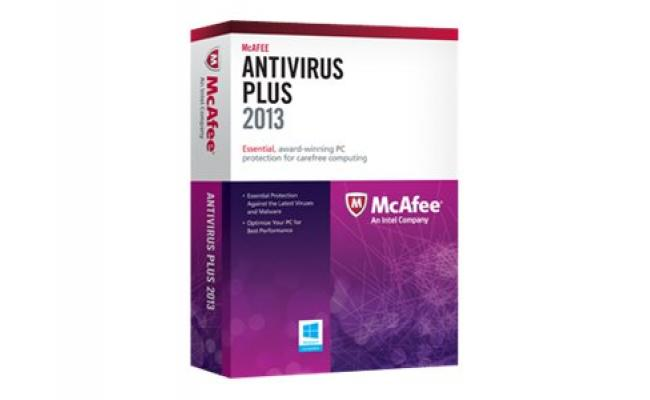 McAfee AntiVirus Plus Activation Card 1 Year