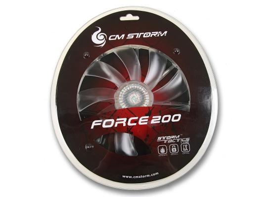 COOLER MASTER  Storm Force 200mm Red LED