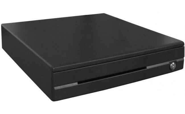 V-Tech MK-410 Cash Drawer Black Steel Front