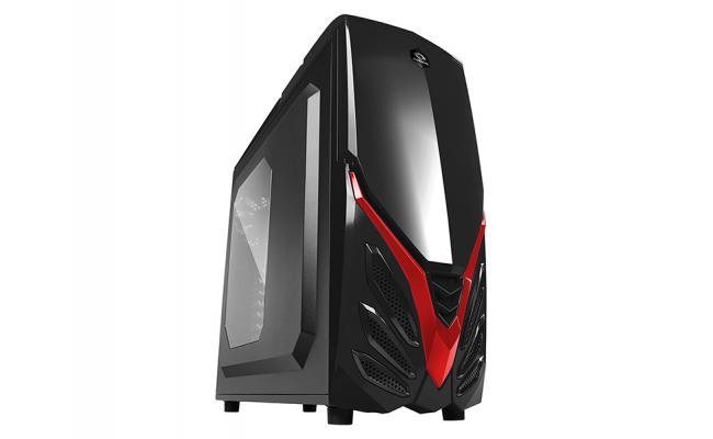Raidmax Viper II A07WBR Gaming Case Red
