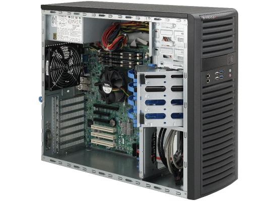 Supermicro SuperServer  Xeon  Workstation Barebone