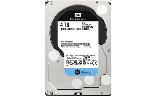 Western Digital Se 4TB Enterprise Hard Drive (3.5 inch)