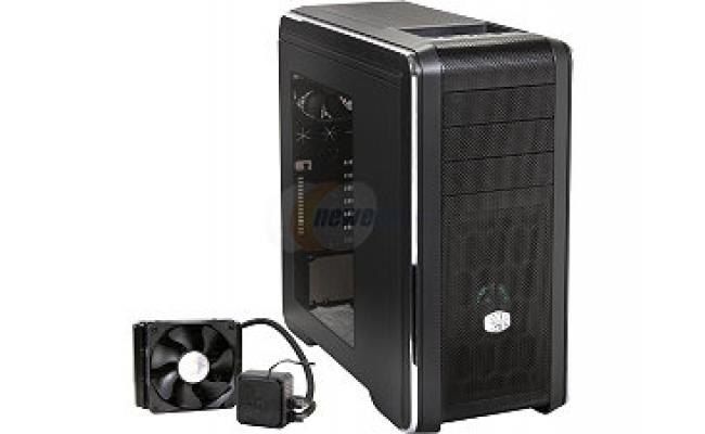Cooler Master CM 690 III with Seidon 120V Water Cooler