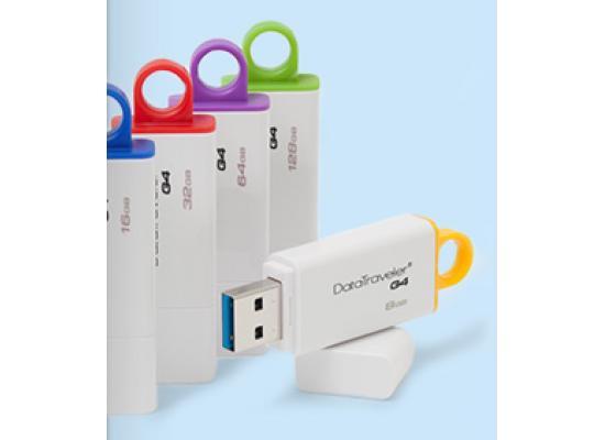 Kingston 16GB DataTraveler Gen 4 USB 3.0 Drive (Blue)