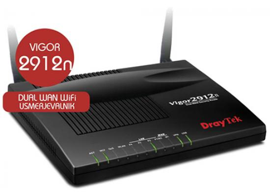 Draytek Vigor 2912N Wireless VPN 3G/4G Dual WAN