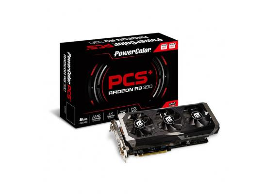 PowerColor PCS+ AMD Radeon R9 390 8GB GDDR5