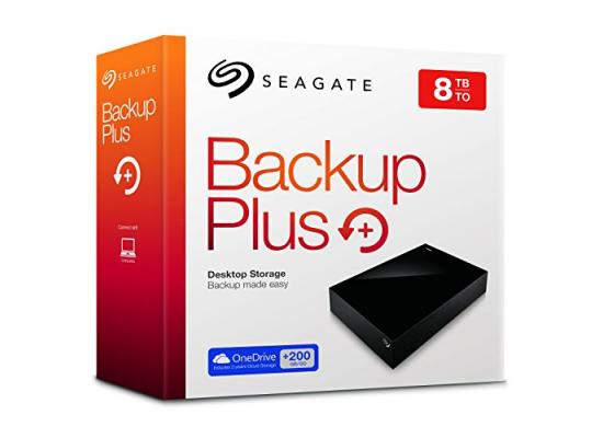 Seagate Backup Plus 8TB Desktop Drive USB 3.0