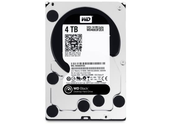 Western Digital Black 4TB 7200RPM  64MB Hard Drive