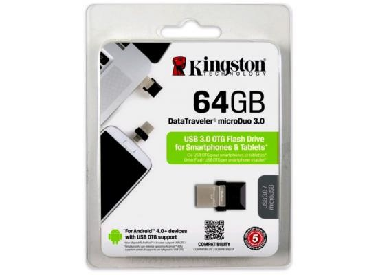 Kingston DataTraveler microDuo 3.0 64GB USB OTG