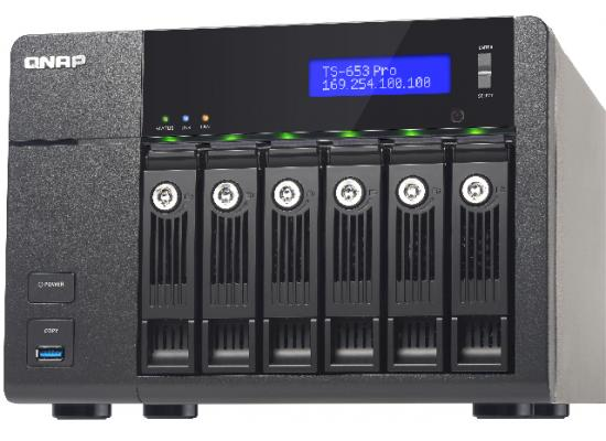 QNAP TS-653-PRO-8G-US 6-Bay NAS Server for SMBs
