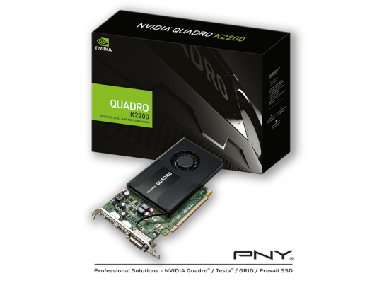 PNY NVIDIA Quadro K2200 4GB GDDR5  Video Card