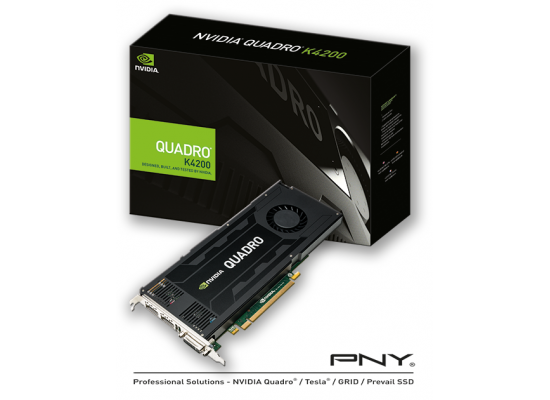 PNY NVIDIA Quadro K4200 4GB GDDR5 Video Card