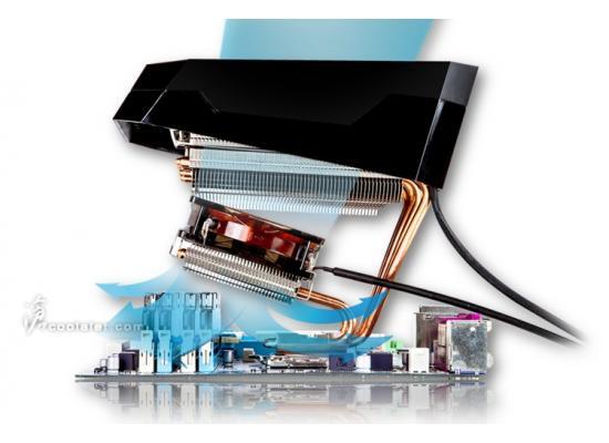 Xigmatek Orthrus SD1467 CPU 140mm Air Cooler