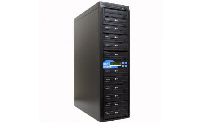 Boss 1 to 11 Target CD/DVD Duplicator - Black