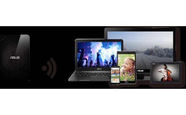 Asus Travelair N Wireless 1TB HDD w/Card Reader