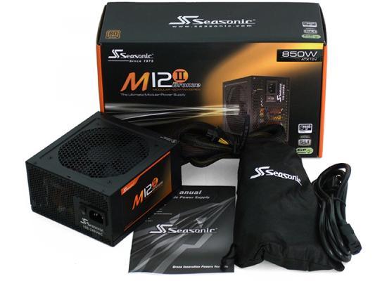 Seasonic M12II EVO  850W 80 PLUS Bronze Modular