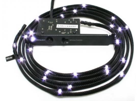 NZXT CB-LED10-WT 1m Sleeved LED Kit (White)