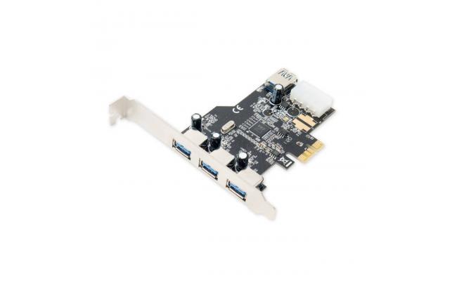 SYBA 3x External & 1x Internal USB 3.0 Port PCI-Express